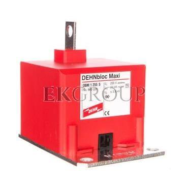 Ogranicznik przepięć B Typ 1 1P 25kA 2,5kV DEHNbloc Maxi 255 S ( montaż na szynie zbiorczej PEN) 900220-216488