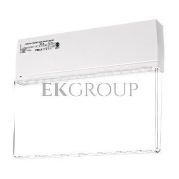 Oprawa awaryjna SK-8 LED 3,2W 100lm 3h jednozadaniowa biała / przeźroczysta SK8/3,2W/C/3/SE/X/WT-201016