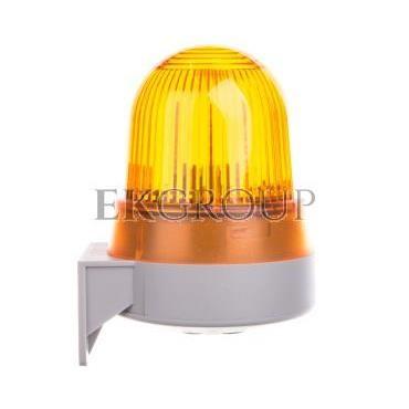 Sygnalizator akustyczno-optyczny żółty LED stałe 92dB 2,3kHz 24V AC/DC IP65 422.310.75-217599