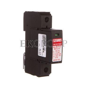 Ogranicznik przepięć typ 1/2 1P 12,5kA 1,2kV 335V AC VAL-MS-T1/T2 335/12.5/1 0 2801041-216496