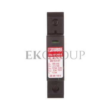 Ogranicznik przepięć typ 1/2 1P 12,5kA 1,2kV 335V AC VAL-MS-T1/T2 335/12.5/1 0 2801041-216497