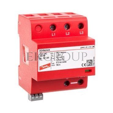 Ogranicznik przepięć B C 3P 12,5/37,5kA 1,5kV DEHNshield TNC 255 FM 941305-216607