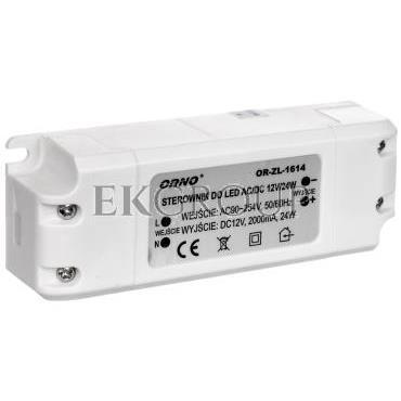 Zasilacz LED 12V DC 24W 2A IP20 OR-ZL-1614-208223