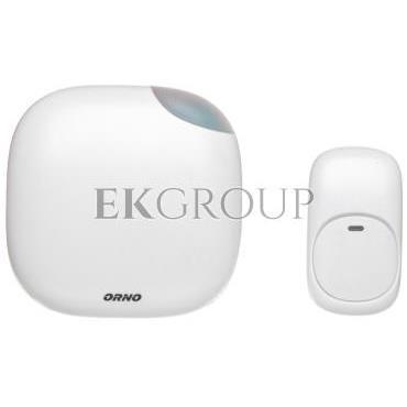 Dzwonek bezprzewodowy LOGICO AC, 230V z learning system i funkcją alarmu OR-DB-QM-125-215656