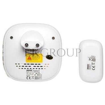 Dzwonek bezprzewodowy LOGICO AC, 230V z learning system i funkcją alarmu OR-DB-QM-125-215657