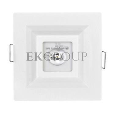 Oprawa awaryjna LOVATO P ECO LED 1W 120lm (opt. otwarta) 1h jednozadaniowa biała LVPO/1W/E/1/SE/X/WH-201137