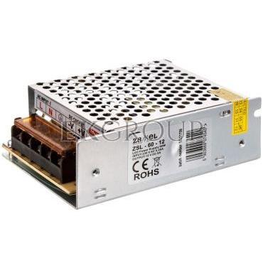 Zasilacz LED siatkowy 12V DC 60W ZSL-60-12 LDX10000117-208236