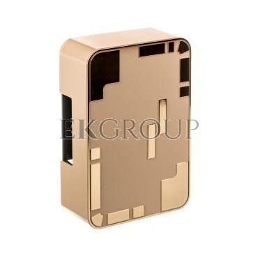 Dzwonek elektromechaniczny dwutonowy 85dB 230V AC kremowo/złoty 95 KRM/ZLO SUB10000335-215810