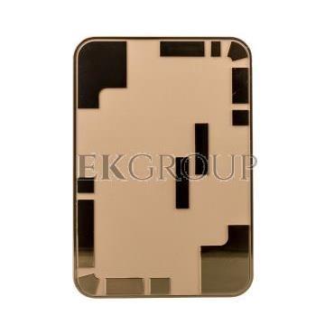 Dzwonek elektromechaniczny dwutonowy 85dB 230V AC kremowo/złoty 95 KRM/ZLO SUB10000335-215811