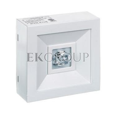 Oprawa awaryjna LOVATO N ECO LED 3W 315lm (opt. koryt.) 1h jednozadaniowa biała LVNC/3W/E/1/SE/AT/WH-201296