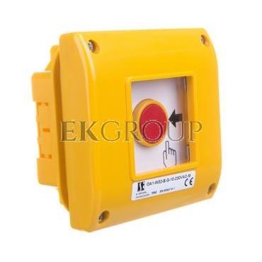 Ręczny przycisk awaryjny podtynkowy z młotkiem OA1-W02-B.G-10-230-M-216997