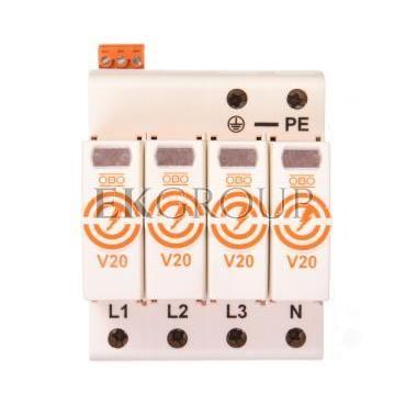 Ogranicznik przepięć C 4P 20kA 280V V20-4 FS-280 5095284-216673