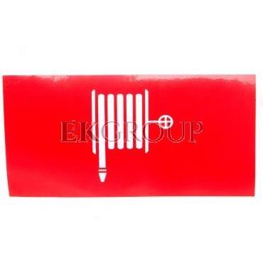 Piktogram 125x250 PS61 hydrant logo awex (ISO7010)-205744