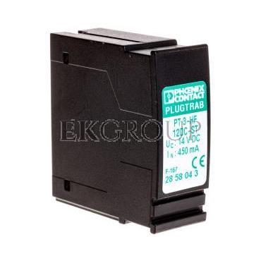 Wtyk ochrony przeciwprzepięciowej 3P PT 3-HF-12DC-ST 2858043-216448