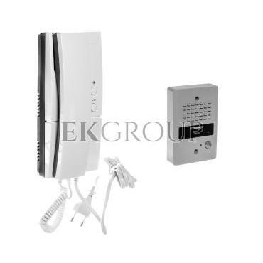 Zestaw domofonowy jednoabonentowy unifon zasilanie 230V DP-2HPR/DR-2GN-215477