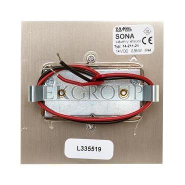 Oprawa LED SONA kwadratowa PT 14V DC STA biała zimna 14-211-21 LED11421121-201517