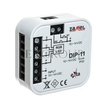 Sterownik RGB przewodowy DIP-11 EXT10000195-207514
