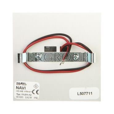 Oprawa LED NAVI z ramką PT 14V DC ALU biała ciepła 11-211-12 LED11121112-201483