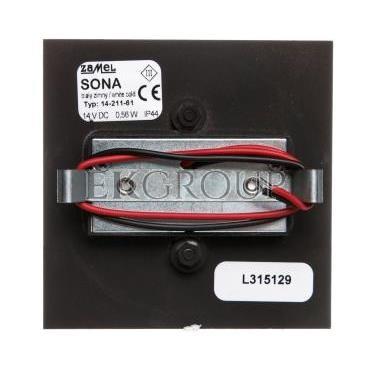 Oprawa LED SONA kwadratowa PT 14V DC CZN biała zimna 14-211-61 LED11421161-201723