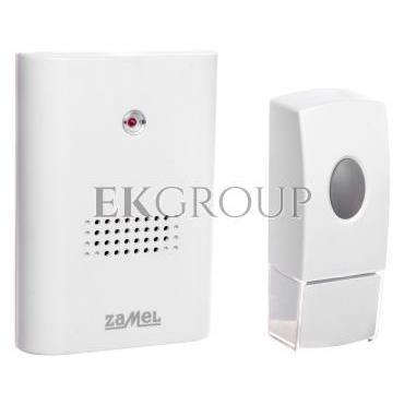 Dzwonek bezprzewodowy bateryjny VIBRO zasięg 100m ST-229/N SUN10000392-215636