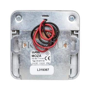 Oprawa LED MOZA NT 14V DC ALU biała ciepła 01-111-12 LED10111112-201528