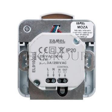 Oprawa LED MOZA PT 230V AC czujnik BIA biała ciepła 01-222-52 LED10122252-201658