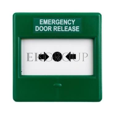 Przycisk ewakuacyjny zielony 1P IP24D CXM/CO/P/G/BB GREEN  4931210FUL-0135-216993