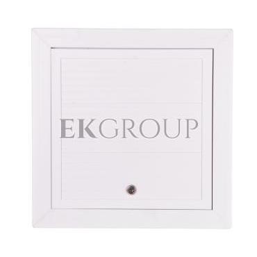 Maskownica komorowa PCV 400x400mm biała MKOM36-215091
