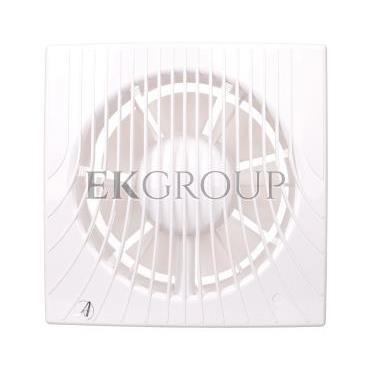 Wentylator wyciągowy fi 150 20W 198m3/h 230V IPX4 biały wył. czasowy E0007848W WA150T-218229