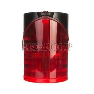 Syrena wielotonowa z sygnalizacją błyskową LED podwójną czerwoną 230V AC 444.100.68-217602