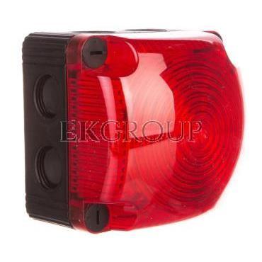 Sygnalizator ostrzegawczy czerwony 24V DC LED stały IP66 853.100.55-217519