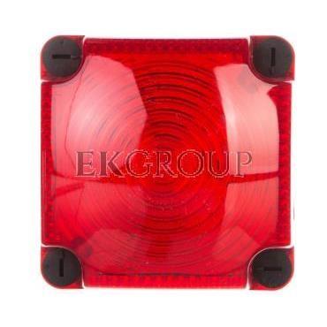 Sygnalizator ostrzegawczy czerwony 24V DC LED stały IP66 853.100.55-217520