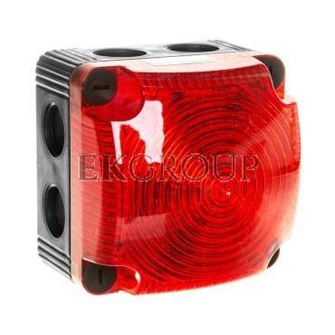 Sygnalizator ostrzegawczy czerwony 115-230V AC LED stały IP66 853.100.60-217521