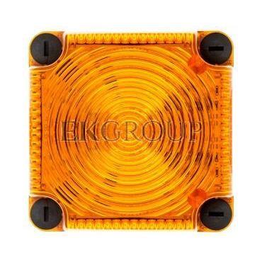 Sygnalizator ostrzegawczy żółty 24V DC LED stały IP65 853.300.55-217526
