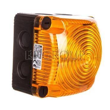 Sygnalizator ostrzegawczy żółty 115-230V AC LED stały IP66 853.300.60-217527