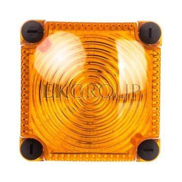 Sygnalizator ostrzegawczy żółty 115-230V AC LED stały IP66 853.300.60-217528