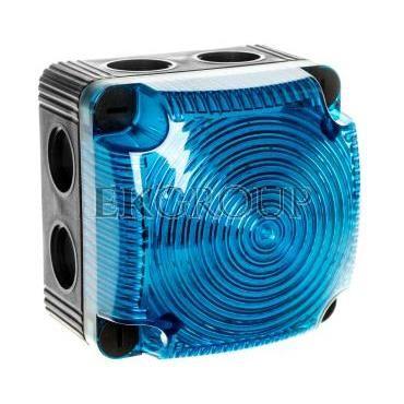 Sygnalizator ostrzegawczy niebieski 115-230V AC LED stały IP66 853.500.60-217529