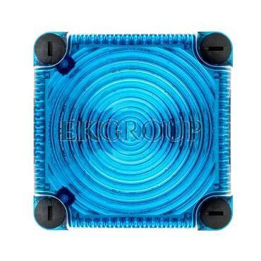 Sygnalizator ostrzegawczy niebieski 115-230V AC LED stały IP66 853.500.60-217530