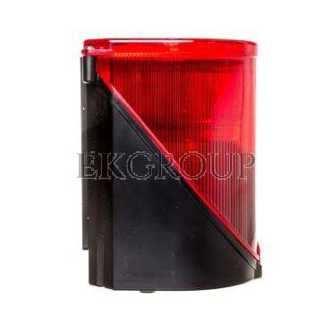 Syrena wielotonowa z sygnalizacją błyskową LED podwójną czerwoną 24V AC/DC 444.100.75-217606