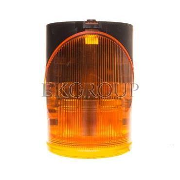 Syrena wielotonowa z sygnalizacją błyskową LED-podwójną żółtą 24V AC/DC 444.300.75-217608