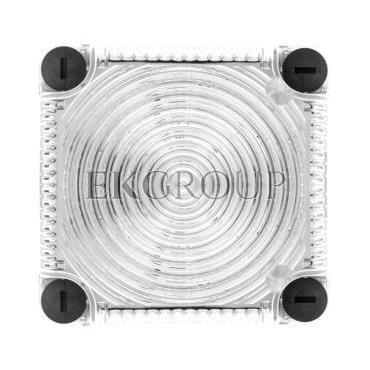 Sygnalizator ostrzegawczy przezroczysty 24V DC LED stały IP66 853.400.55-217537
