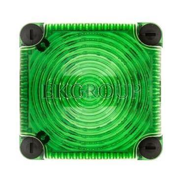 Sygnalizator ostrzegawczy zielony 115-230V AC LED błyskowy podwójny 853.210.60-217541