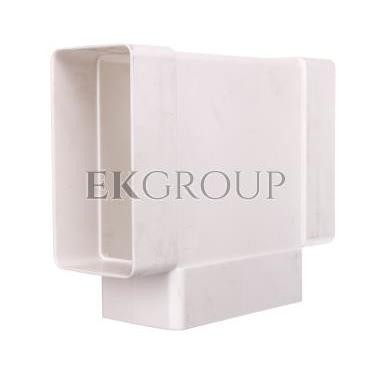Trójnik płaski 110x54mm biały 082-215076