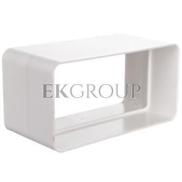 Łącznik kanałów 120x60mm biały 420-215079