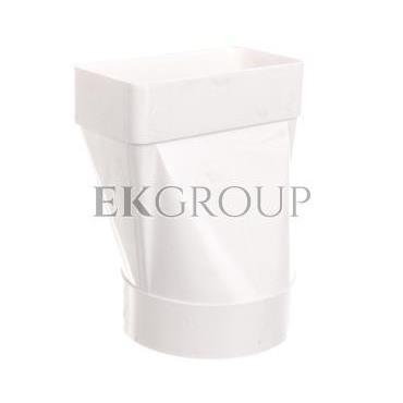 Łącznik przekrojów zmiennych 120x60mm biały 470-215082