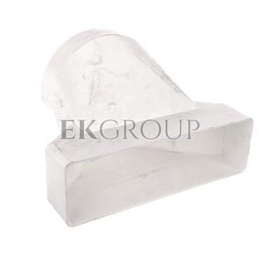 Łącznik przekrojów zmiennych 204x60/125mm biały 570-215083
