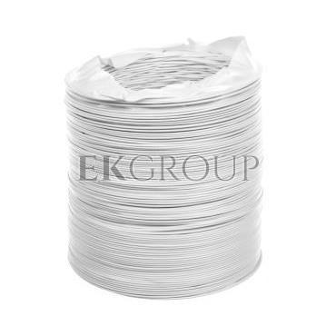 Kanał elastyczny PCV 100x3000mm biały WP363-215087