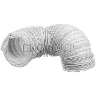 Kanał elastyczny PCV 100x3000mm biały WP363-215088