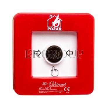 Ręczny ostrzegacz pożarowy NC-NO IP65 WP-1 ROP B 921406-216964