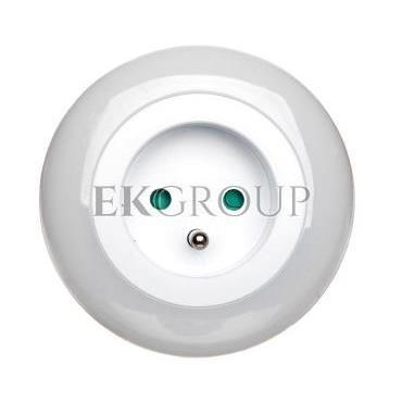 Lampka nocna LED 0,63W z czujnikiem zmierzchu   gniazdo 230V P3307-201756